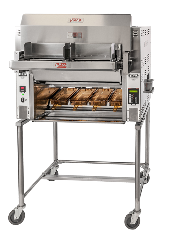 Energy Efficient Burger Broiler