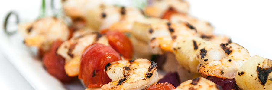 Pineapple Shrimp Kabobs