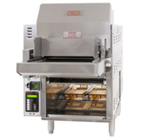 Low Volume Kiosk Burger Broiler