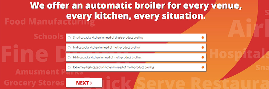 Commercial Food Service Broiler